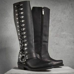 Harley-Davidson Romy High Cut Boot Size 8